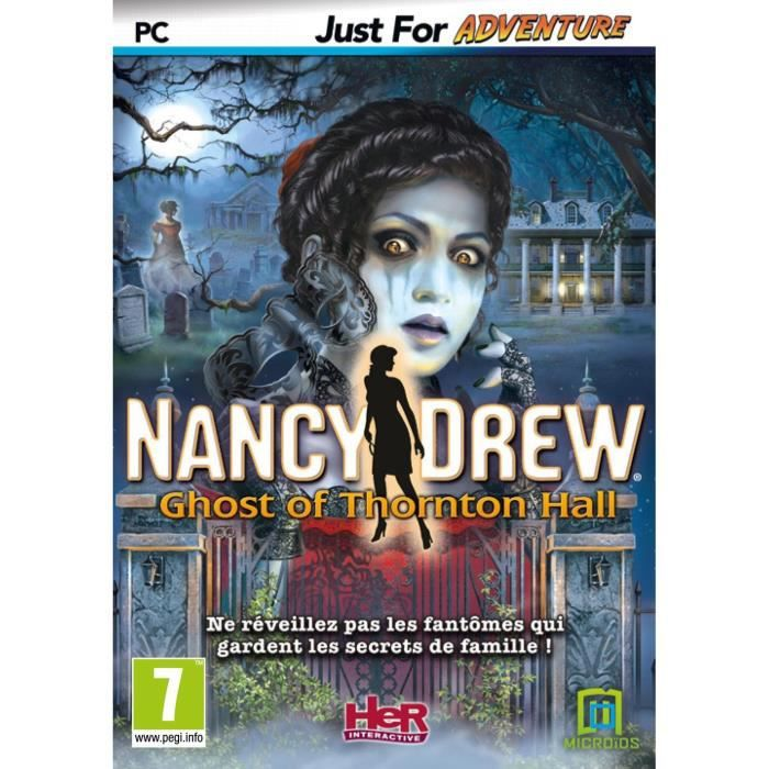 Nancy Drew Le Fantôme de Thornton Hall Jeu PC