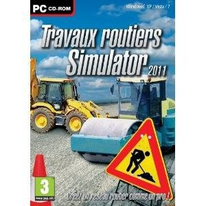travaux routiers simulator jeu pc achat vente jeu pc travaux routiers simulator cdiscount. Black Bedroom Furniture Sets. Home Design Ideas