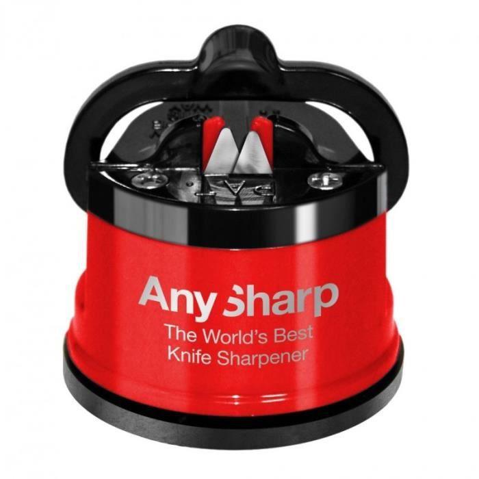 AnySharp - Aiguiseur professionnel Rouge