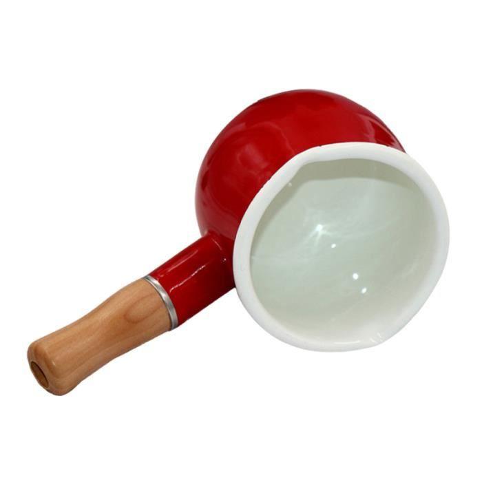 Antiadhésif émail lait casserole beurre chauffe-café petit pot à lait cuisine pot de cuisson pour noodle bébé aliments