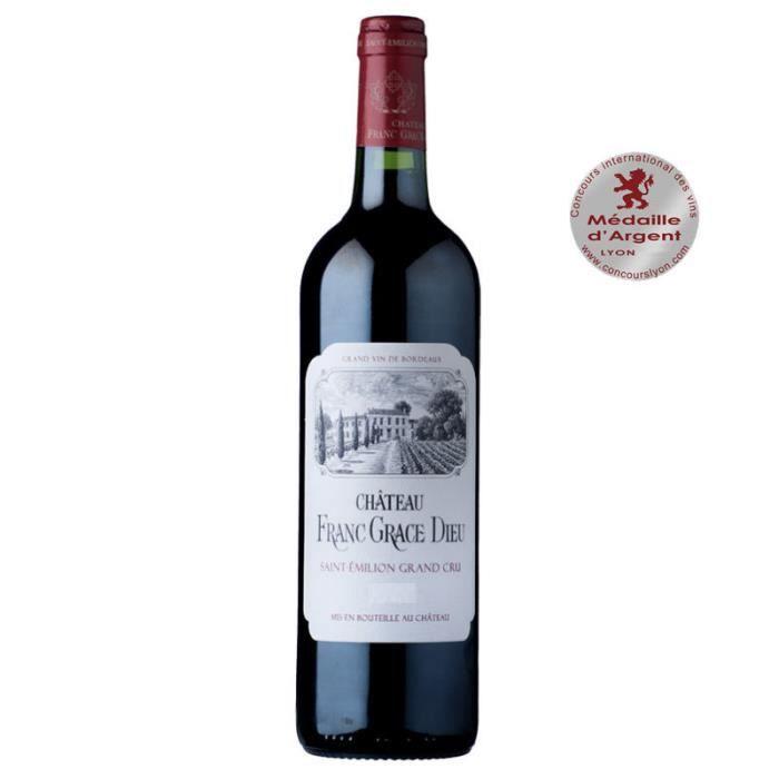 Château FRANC GRACE DIEU Grand Cru 2014 AOP SAINT EMILION GRAND CRU