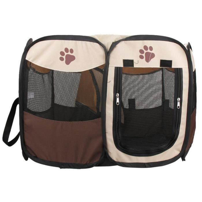 Tente octogonale Portable et pliable pour animaux de compagnie, pour chiens, parc d'intérieur, cage d'extérieur, [B94F6B0]