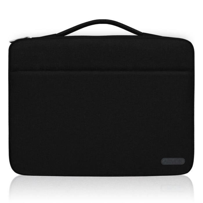 Housses pour ordinateur portable Arvok 15 15.6 Pouces Housse pour Ordinateur Portable avec Poignée Sacoche Pochette PC d 59414