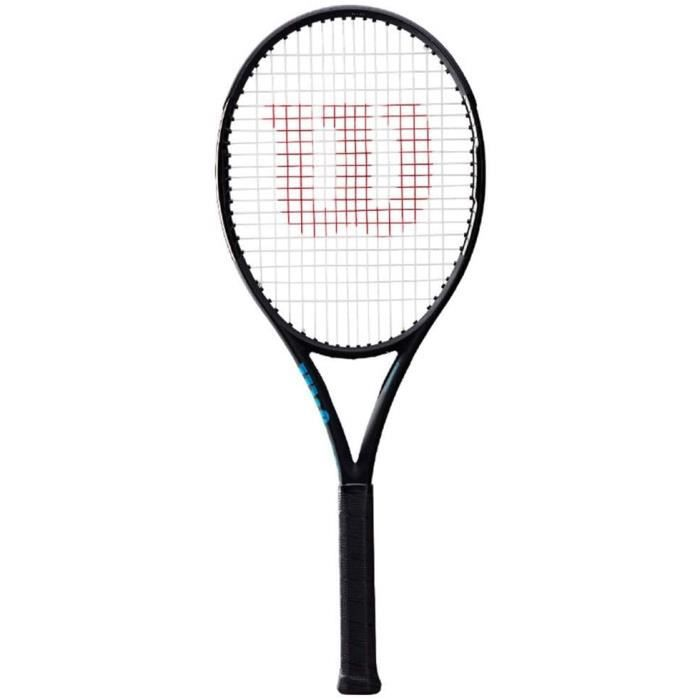 Tennis Raquette De Professionnelle Raquette Professionnelle en Carbone Raquette Noire pour Hommes Et Femmes Absorption des Chocs Pro
