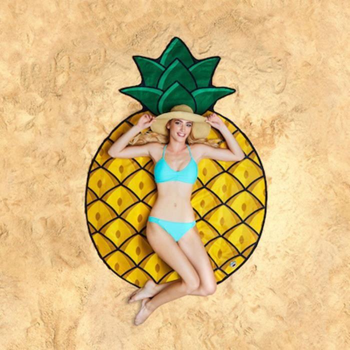 Serviette de Plage Ananas - Cadeau Maestro