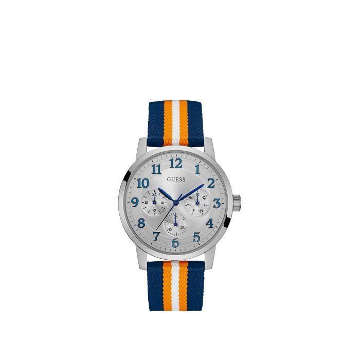 Guess Watches Montre bleu Homme W0975G2