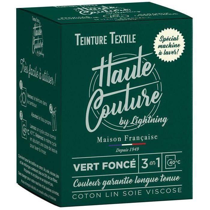 Teinture textile haute couture vert foncé 350g
