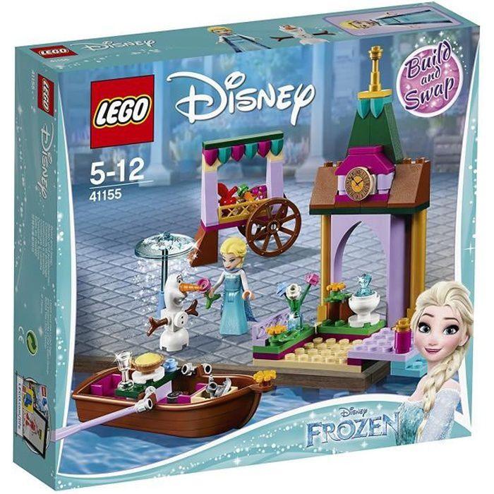 LEGO® Disney La Reine des neiges 2 - 41155 - Les aventures d'Elsa au marché