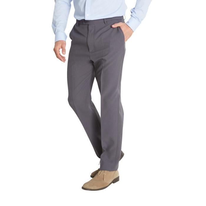 Pantalon de ville entièrement élastiqué