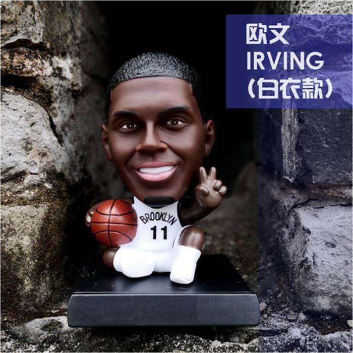 Kyrie Irving 11# Jouet Poupée Brooklyn Nets BKN Décoration de Voiture pour les Fans de Basket-ball Souvenirs