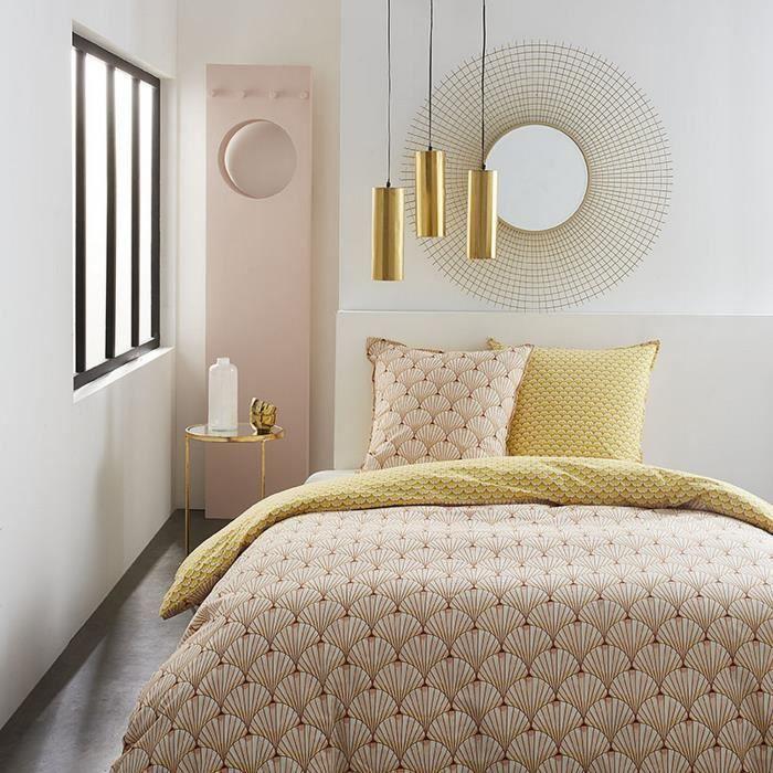 Housse de couette réversible et taie d'oreiller Today 100% coton 4.3 - taille:220 x 240 cm