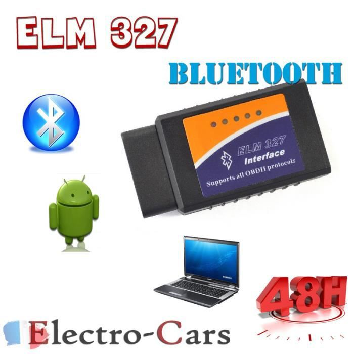 interface diagnostique automobile elm327 bluetooth multimarques obd2 achat vente outil de. Black Bedroom Furniture Sets. Home Design Ideas