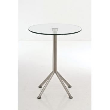 Table de bar en verre oliviera verre transparent achat vente mange de - Table de bar en verre ...