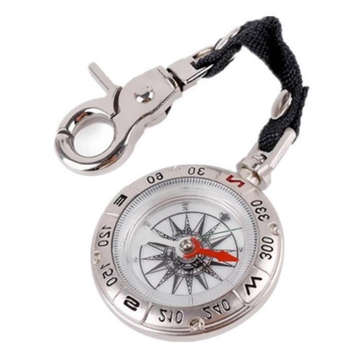 Pocket compass-petit en métal sur la poche boussole