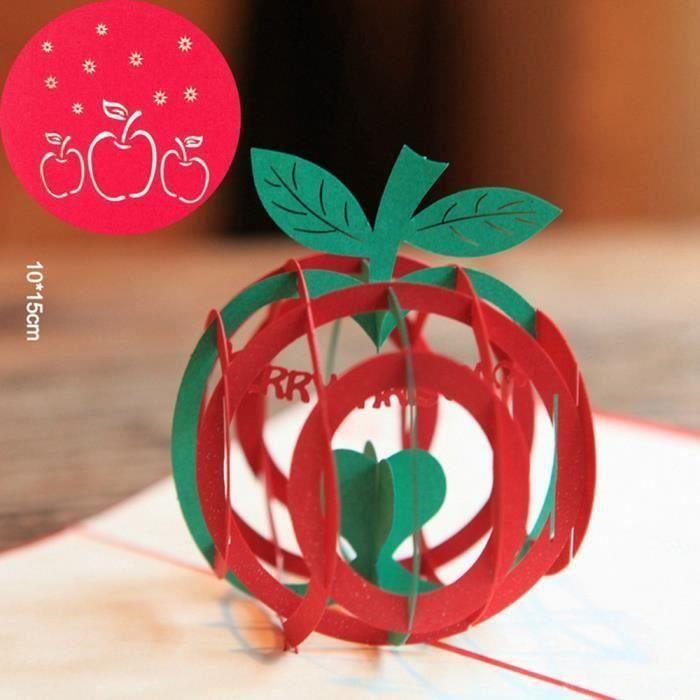 Joyeux Noel 3d Cartes De Voeux Joyeux Anniversaire Mariage D Amoureux Xpp10290582 Achat Vente Carte Correspondance Joyeux Noel 3d Cart Cdiscount