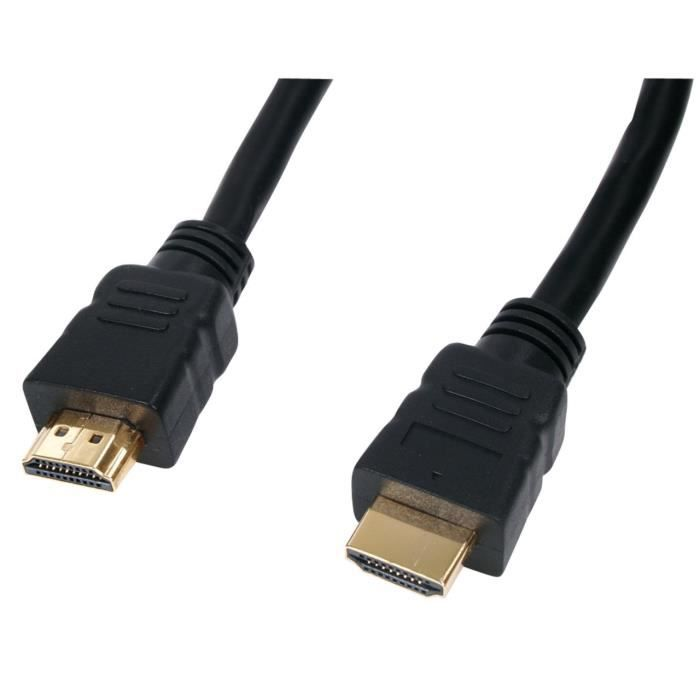 go4u 5m c ble hdmi connectors pour hd tv ps3 prix pas. Black Bedroom Furniture Sets. Home Design Ideas