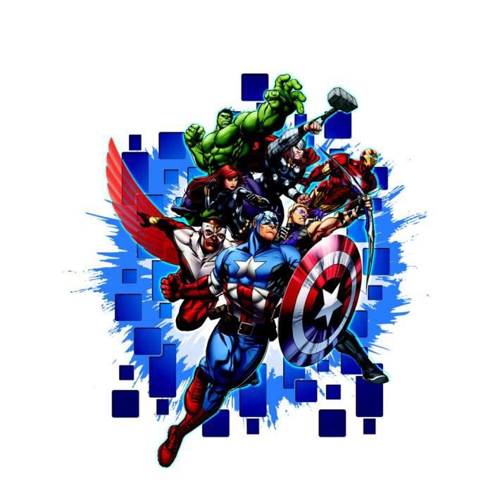 stickers g233ant avengers marvel achat vente stickers