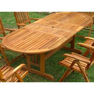 Table De Jardin A Rallonge. Amazing Table Jardin Rallonge Extensible ...