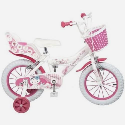 velo charmmy kitty 14 pouces enfant fille achat vente v lo enfant velo charmmy kitty 14. Black Bedroom Furniture Sets. Home Design Ideas