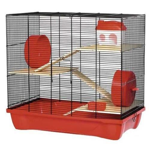 kerbl hamster 12 cage pour hamster 3 tages. Black Bedroom Furniture Sets. Home Design Ideas
