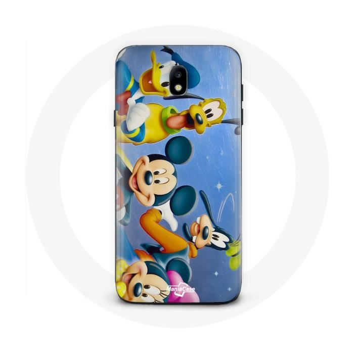 Coque Samsung Galaxy J7 2017 Mickey mouse Donald trump doofy Et ...