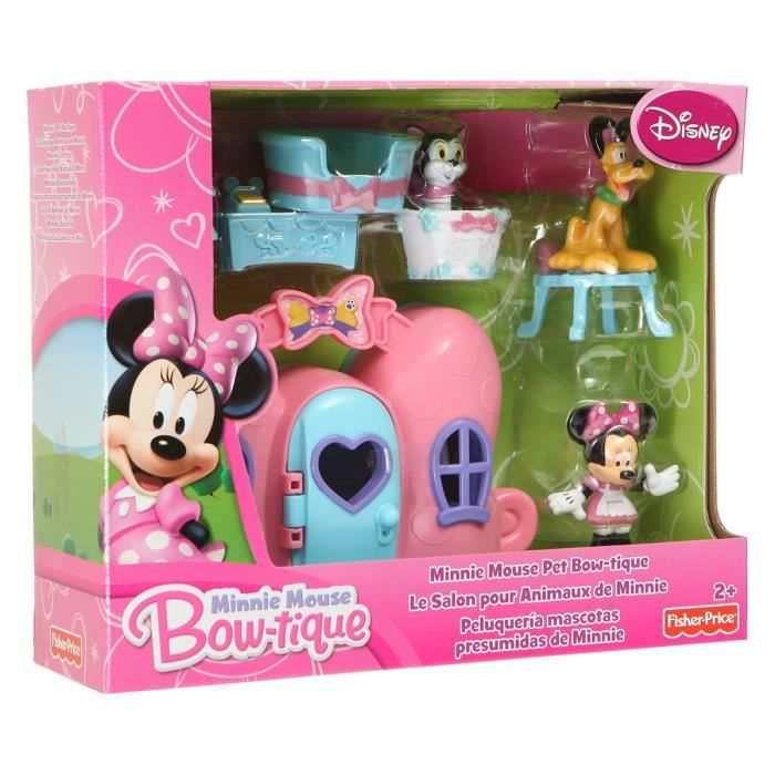 minnie salon pour animaux fisher price achat vente. Black Bedroom Furniture Sets. Home Design Ideas
