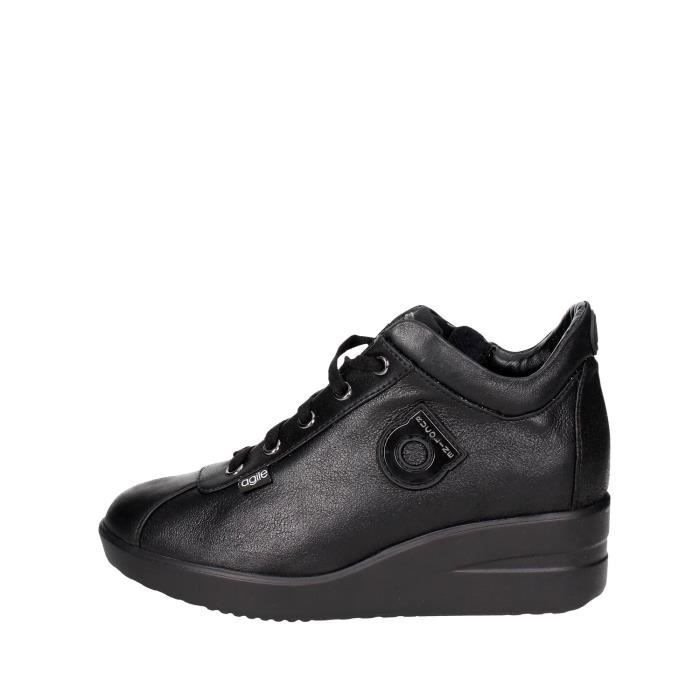 By 36 Femme Sneakers Noir Rucoline Agile vdqS8w11