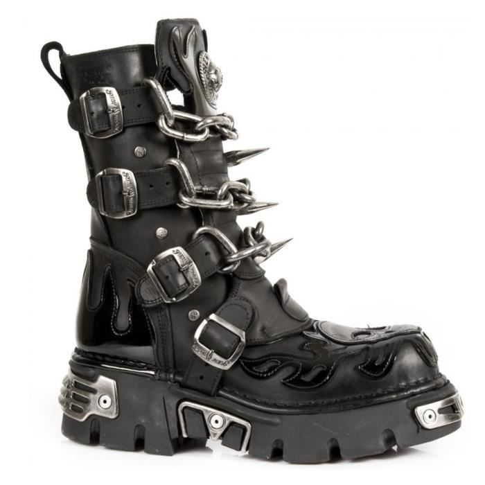 Bottes GOTH - New Rock - M.727-S1-39.
