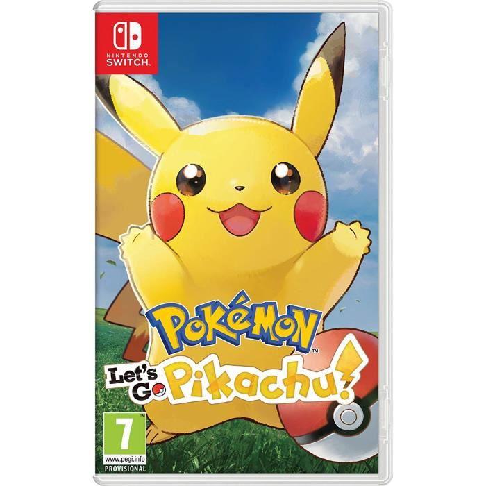 JEU NINTENDO SWITCH Pokémon: Let's Go, Pikachu! (Nintendo Switch)