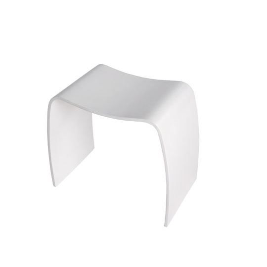 tabouret design blanc achat vente tabouret cdiscount. Black Bedroom Furniture Sets. Home Design Ideas