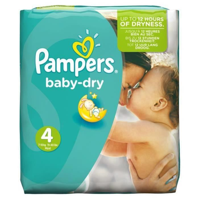 couche pampers taille 4