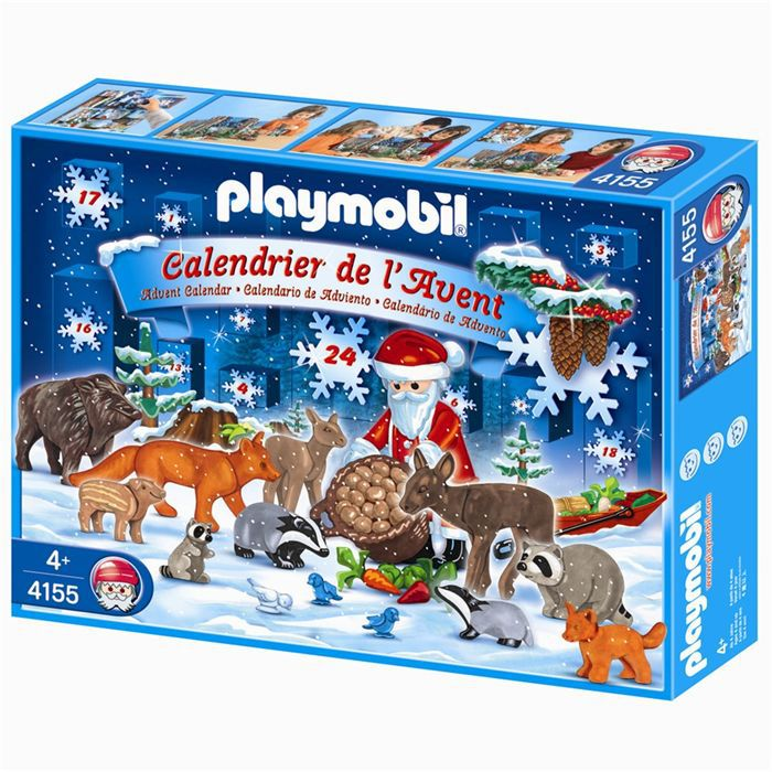 playmobil calendrier de l 39 avent no l en f ret achat. Black Bedroom Furniture Sets. Home Design Ideas