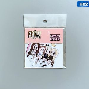 CARTE POSTALE DÉCO Papier adhésif photo autocollant H02
