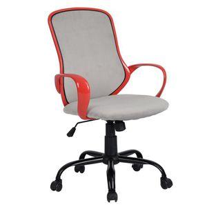CHAISE DE BUREAU Fauteuil de Bureau, gris claire, chaise de bureau