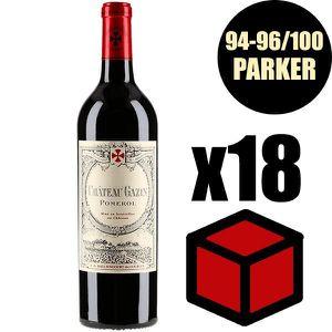 VIN ROUGE X12 Château Gazin 2016 75 cl AOC Pomerol  Vin Roug