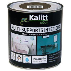 PEINTURE - VERNIS Kalitt Multi supports satin taupe 0.5l