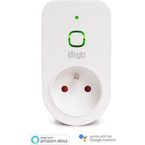 MODEM - ROUTEUR KONYKS Prise connectée Wi-Fi 16A - Compatible avec