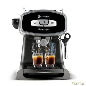 MACHINE À CAFÉ zEspresso Machine pour café moulu et cappuccino 19