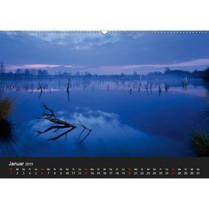 CALENDRIER - EPHEMERIDE calendrier Lumière Photographies d'art - A2 transv