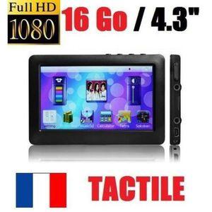 LECTEUR MP4 LECTEUR MP5 MP4 MP3 TACTILE FULL HD 1080p -16Gb