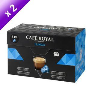 CAFÉ CAFE ROYAL Lungo - Compatibles avec le système Nes