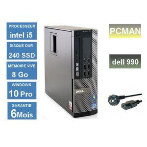 ORDI BUREAU RECONDITIONNÉ Pc bureau Dell 790 - Core i5-2500  3.3 Ghz- RAM 8G