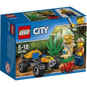 ASSEMBLAGE CONSTRUCTION LEGO® City 60156 Le Buggy de la Jungle