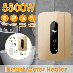 CHAUFFE-EAU BRAVOTW 5500W 220V Chauffe-eau Électrique 3 Second