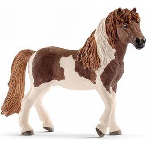 FIGURINE - PERSONNAGE SCHLEICH Figurine 13815 - Cheval - Étalon poney is