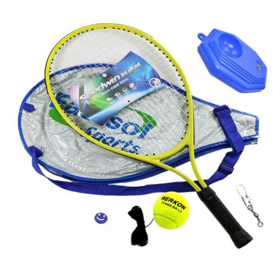 Qianle Raquette de Tennis Enfant avec Accessoires Entraînement