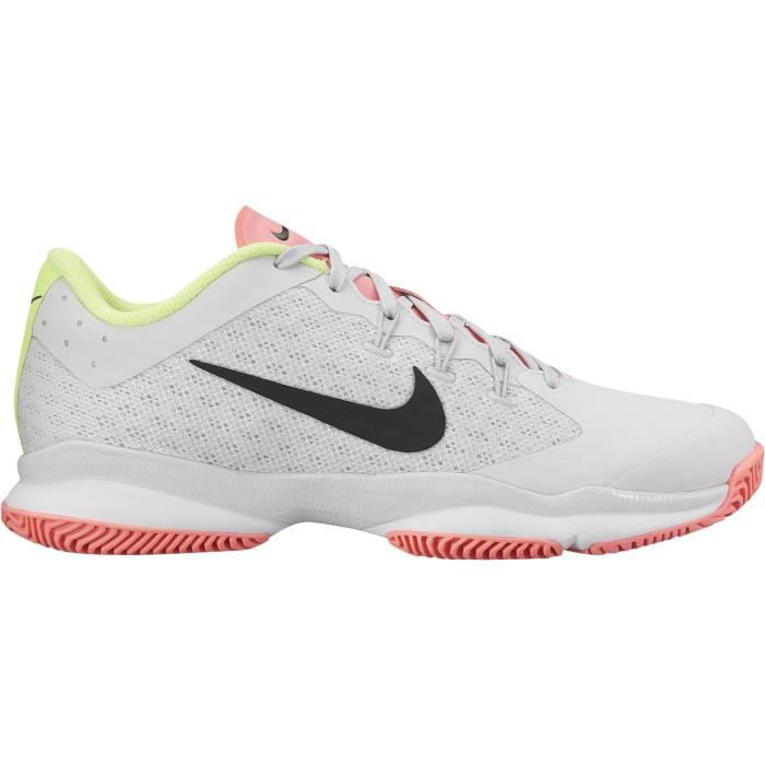 new product 70ece 53f38 NIKE Chaussures de tennis Air Zoom Ultra - Femme - Blanc et rose