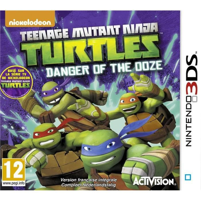 tortues ninja tmnt danger of the ooze jeu 3ds achat vente jeu 3ds tmnt danger of the ooze. Black Bedroom Furniture Sets. Home Design Ideas