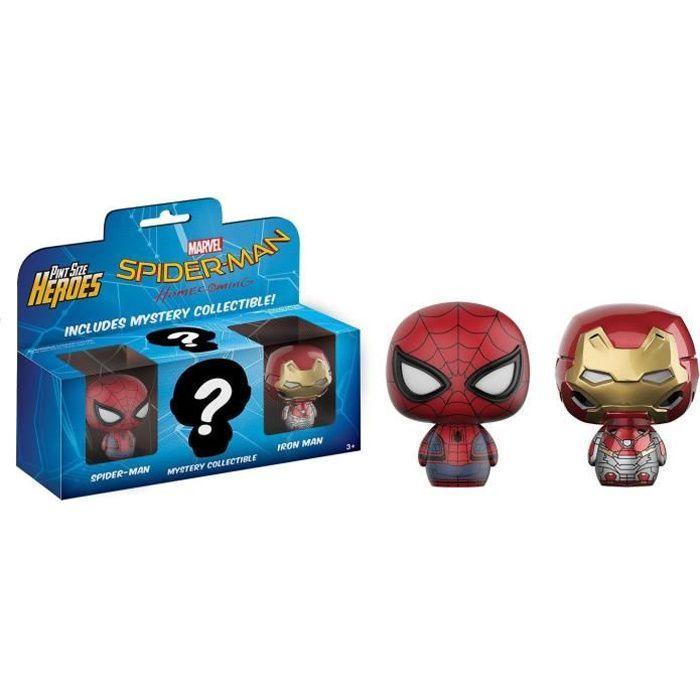 FIGURINE - PERSONNAGE 3 Figurines Funko Mystery Minis Marvel - Spider-Ma