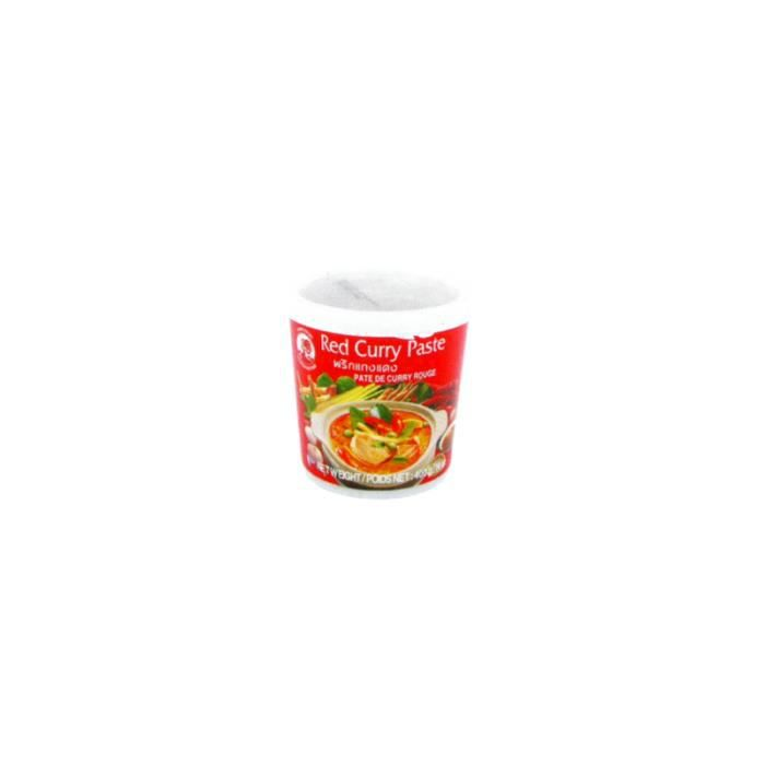 Pâte de curry rouge 400g